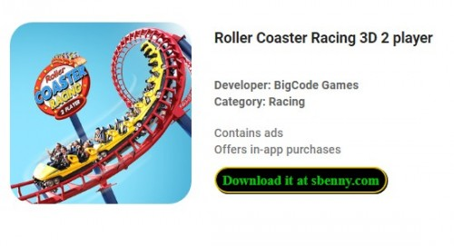 Roller Coaster Racing 3D 2 player + MOD