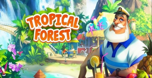 Forêt tropicale: Match 3 Story + MOD