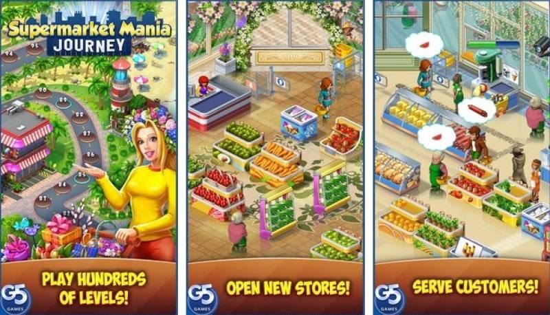 Supermercado Mania Journey + MOD