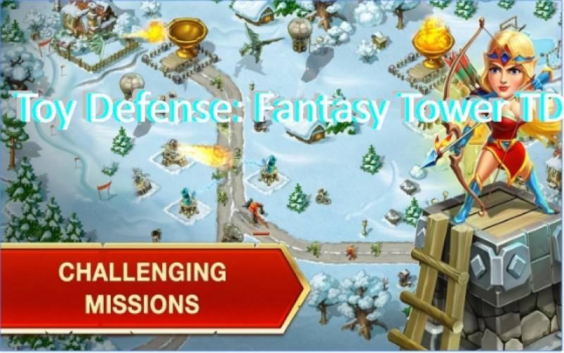 Игрушка обороны: Фантазия Tower TD + MOD