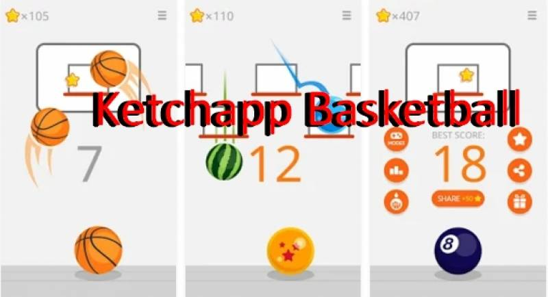 Ketchapp Basquetebol + MOD