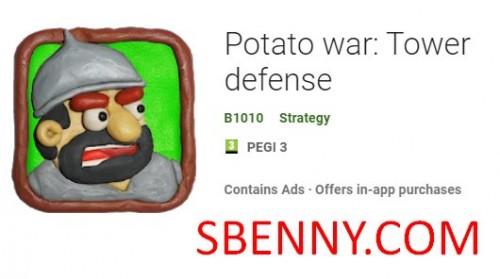 Guerra delle patate: difesa a torre + MOD