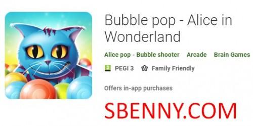 Bubble pop - Alice nel paese delle meraviglie + MOD
