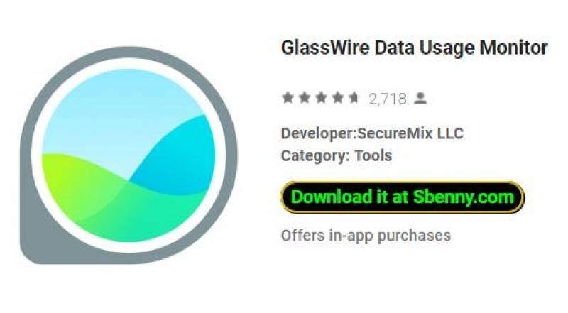 GlassWire Data Usage Monitor + MOD