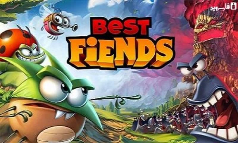 Best Fiends - kostenloses Puzzle-Spiel + MOD