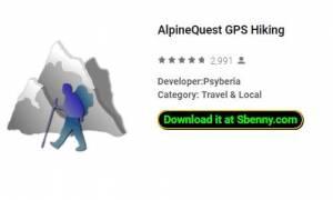 Randonnée GPS AlpineQuest