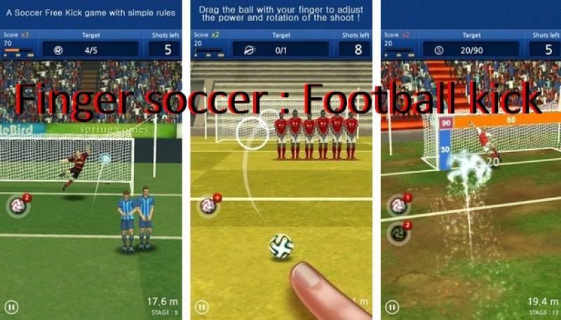 Soccer tas-swaba ': kick tal-futbol + MOD