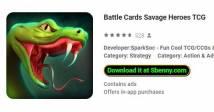 Cartões de batalha Savage Heroes TCG + MOD