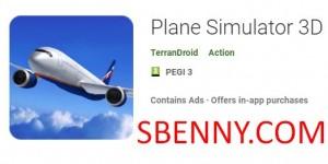 Simulador de avión 3D + MOD
