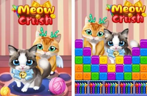 Meow Crush + MOD
