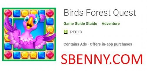 Birds Forest Quest + MOD