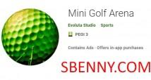 Mini arena de golfe