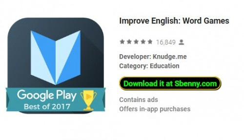 Improve English: Word Games + MOD