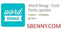 Swag Word - Cool fontes, citações