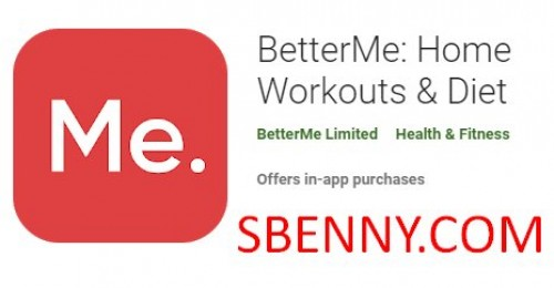 BetterMe: Home Workouts & Diet + MOD