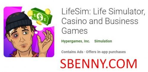 LifeSim: Lebenssimulator, Kasino und Geschäftsspiele + MOD