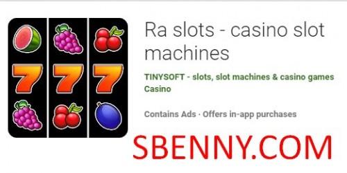 Tragamonedas Ra - máquinas tragamonedas de casino + MOD