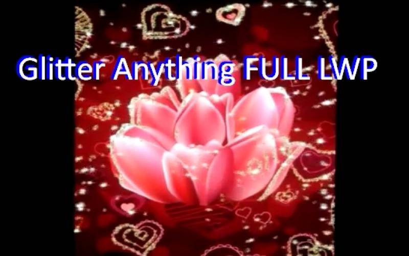 Glitter Anything FULL LWP + MOD