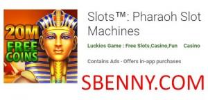 Слоты: игровые автоматы фараона + MOD