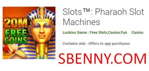 Slots: Pharaoh Slot Machines + MOD