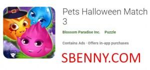 Домашние животные Хэллоуин Матч 3 + MOD