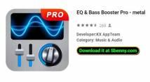 EQ & amp; Bass Booster Pro - métal