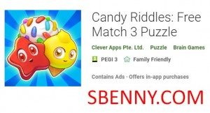 Candy Riddles: Free Match 3 Puzzle + MOD