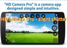 HD Camera Pro - тихий затвор + MOD