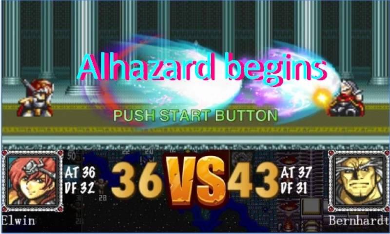 начинается Alhazard