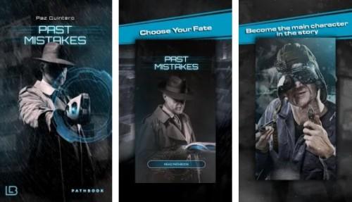 Erreurs passées - Application de livre de science-fiction + MOD