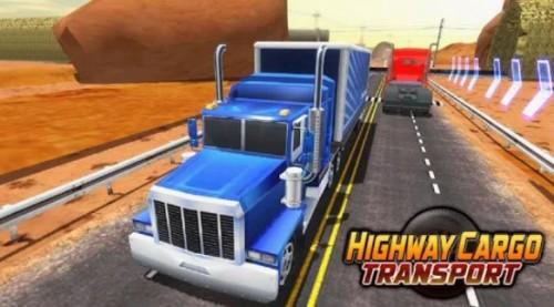 Camión de carga en carretera Simulador de transporte + MOD