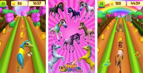 Unicorn Run - Fun Run Game + MOD