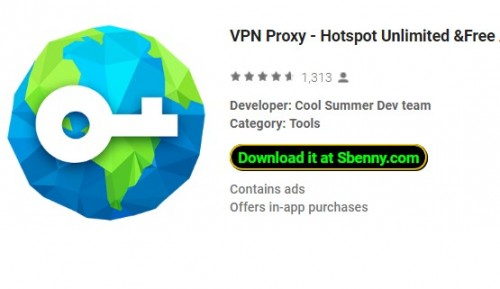 VPN Proxy - Hotspot Unlimited & amp; Free App VPN + MOD