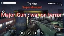 Major Gun: guerre contre le terrorisme + MOD