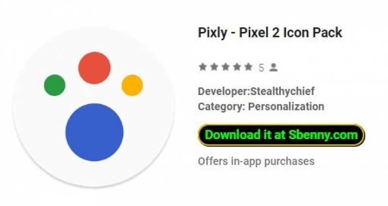 Pixly - Pixel 2 Icon Pack