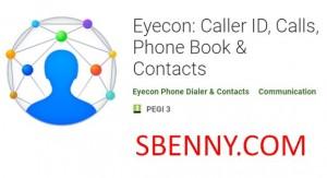 Eyecon: Caller ID, Звонки, Телефонная книга и усилитель; Контакты + MOD