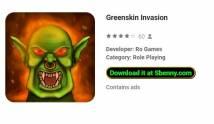 Invasion de peau verte