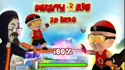 Mighty Raju 3D Hero + MOD
