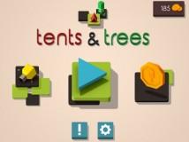 Rompecabezas de carpas y árboles + MOD