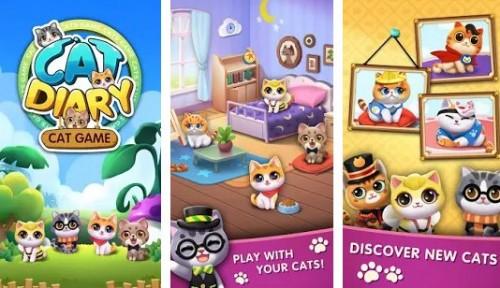 Diario del gato: Juego inactivo del gato + MOD