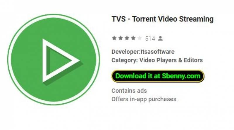 TVS - Torrent Video Streaming + MOD