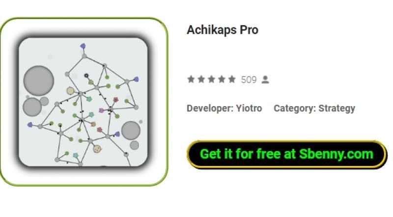 Achikaps Pro