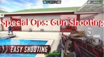 Speċjali Ops: Shooting Gun - Online FPS Gwerra Game + MOD