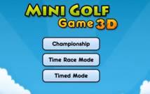 Mini Golf Gioco 3D