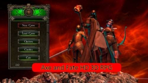 Axe and Fate HD 3D RPG + MOD