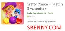 Crafty Candy - Match 3 Adventure + MOD