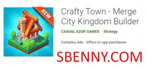 Crafty Town - Merge City Kingdom Builder + MOD
