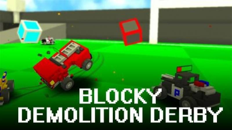 Blocky Demolition Derby + MOD