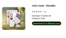Carte calme - Klondike