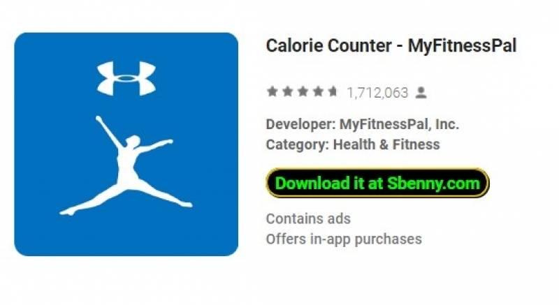 Contador de calorías - MyFitnessPal + MOD